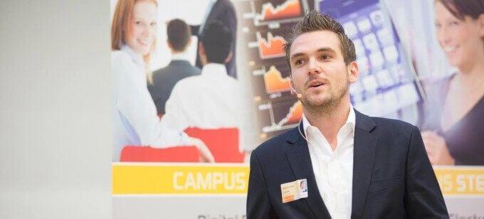 Benjamin Kehrer, Vortrag E-Business Best Practices